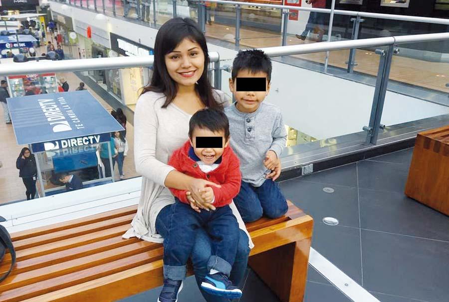 Madre de familia mató a sus dos hijos