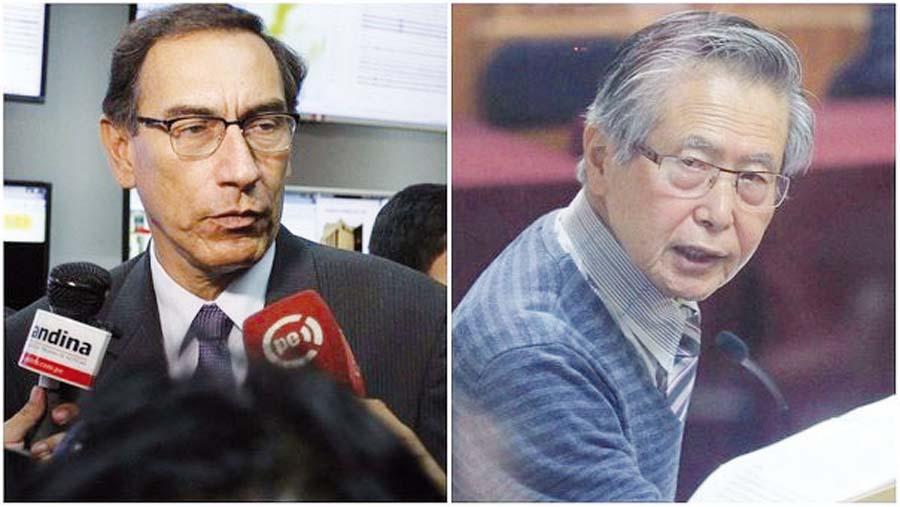 Vizcarra aún no le pondrá su firma a 'Ley Fujimori'