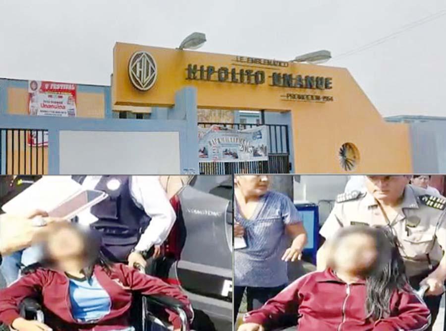 Tres escolares fueron 'pepeadas' dentro de su colegio