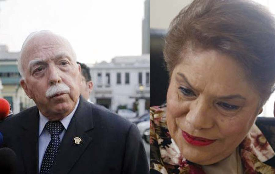 Carlos Tubino y Luz Salgado