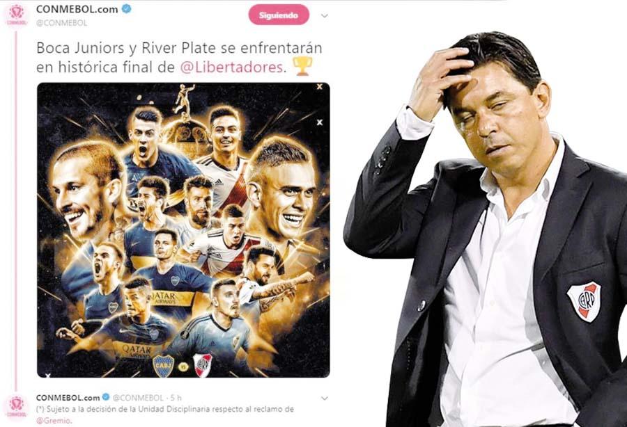 Copa Libertadores. Boca Juniors y River Plate