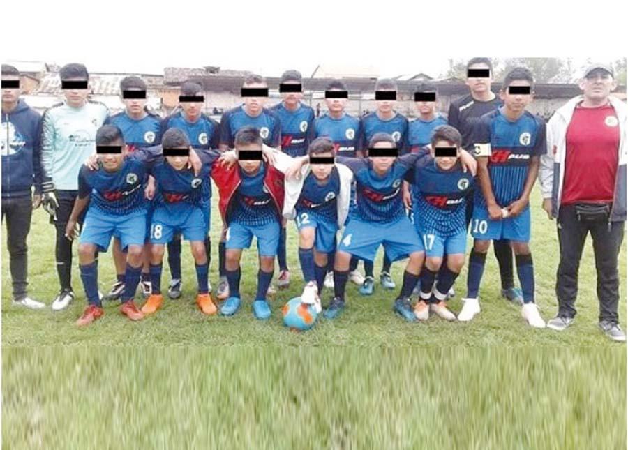 Equipo de futbol de la categoría Sub 14