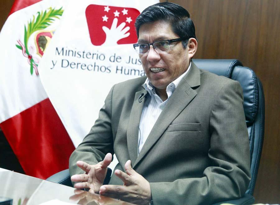 Ministro de Justicia, Vicente Zeballos