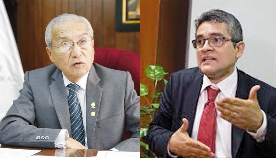 Pedro Chávarry y José Domingo Pérez