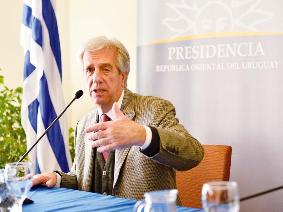 Presidente de Uruguay, Tabaré Vásquez