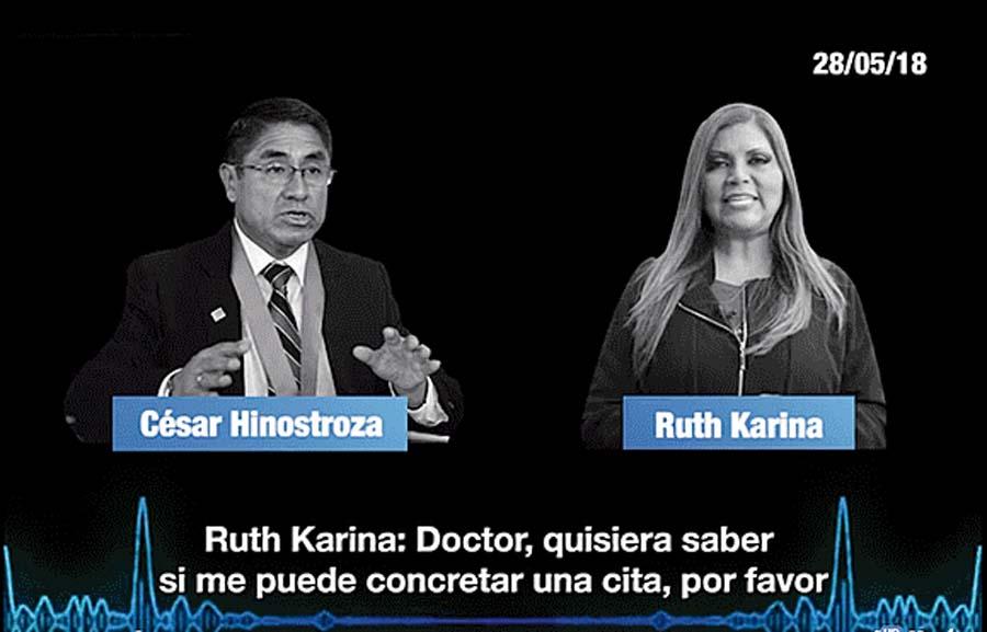 Ruth Karina tiene audio con 'Hermanito'