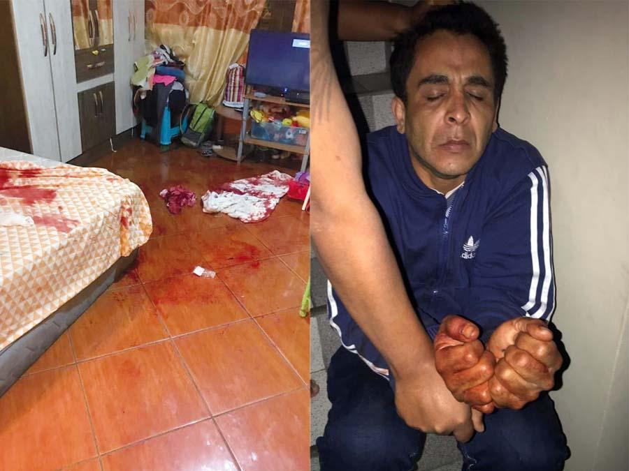 Venezolano degolló a expareja delante de los hijos de la víctima