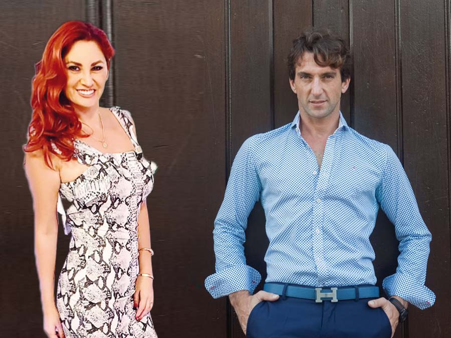 Antonio Pavón y Aneth Acosta