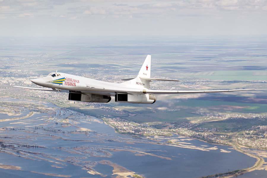 Bombarderos T-160nucleares rusosen Venezuela