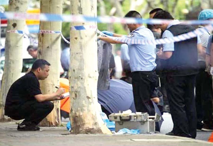 China: 8 muertos en secuestro de bus