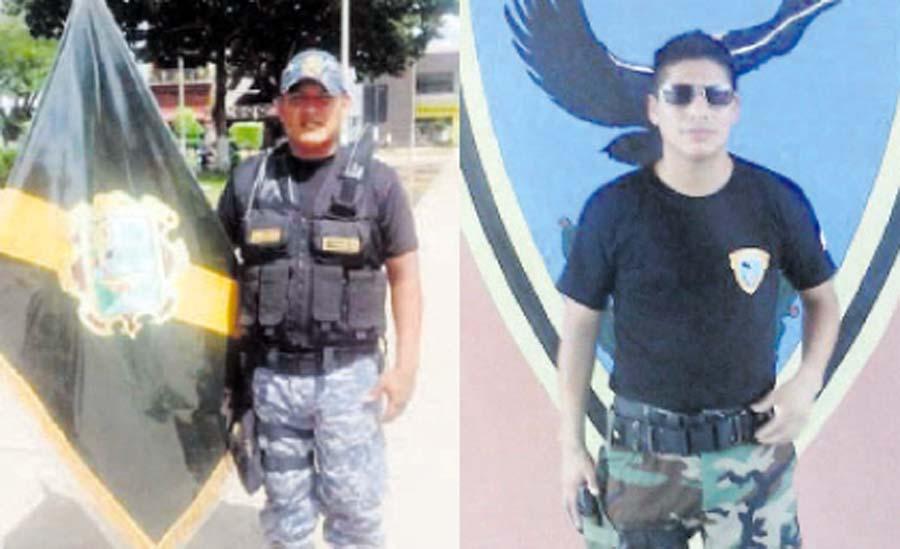 Delincuentes asesinan a balazos a Policía y sereno