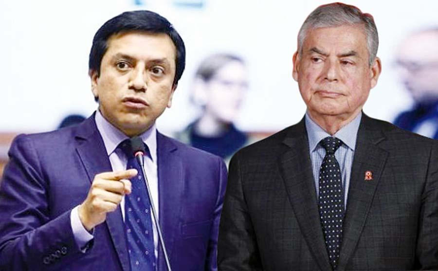 Gilbert Violeta y César Villanueva