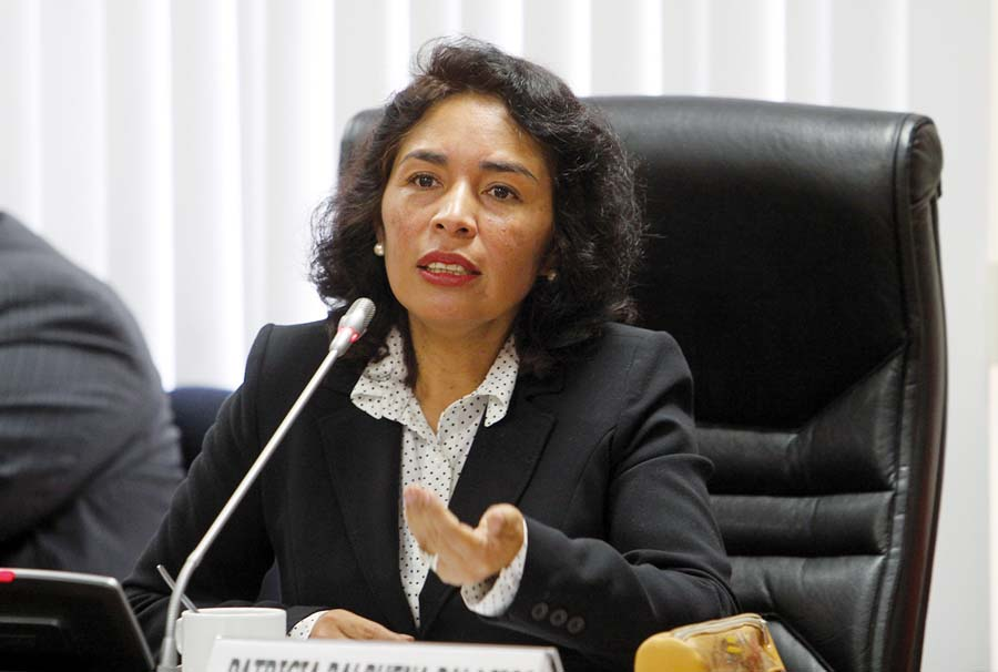 Ministra de Cultura, Patricia Balbuena