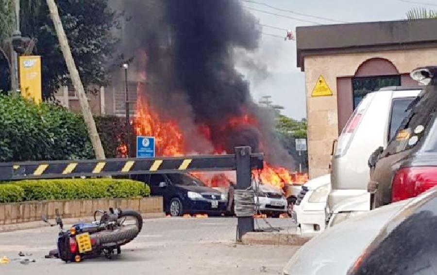 Atentado terrorista en lujoso hotel de Kenia