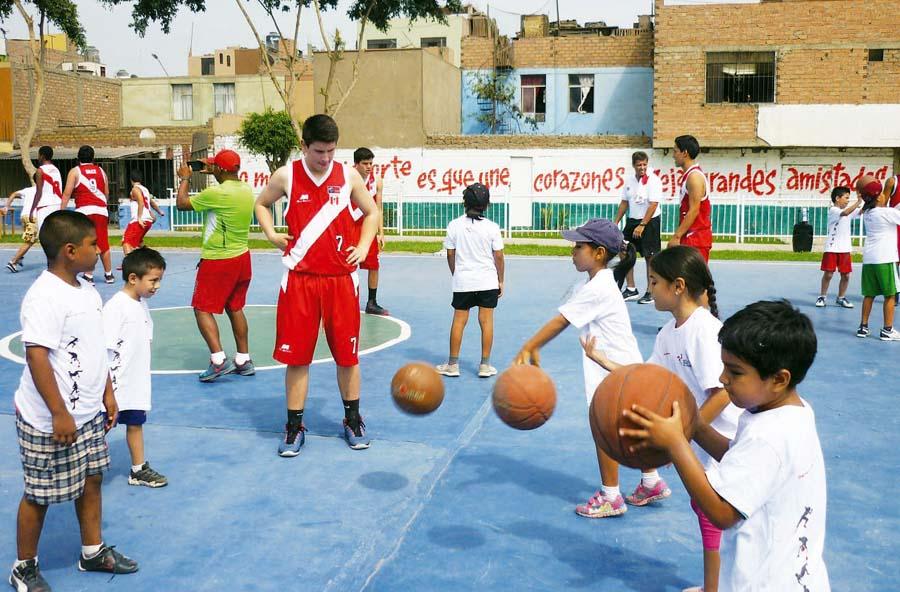 Basket para niños