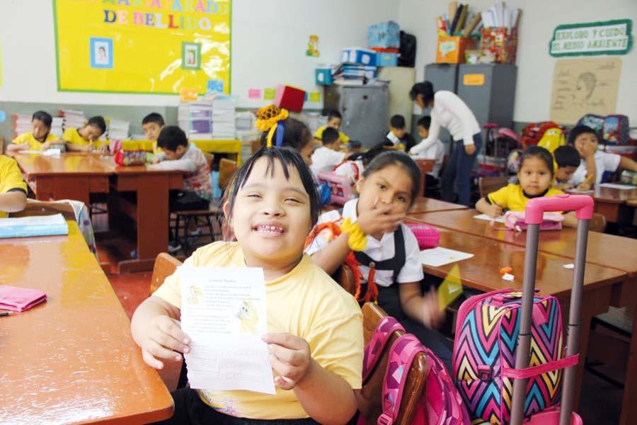 Colegios deben destinar dos vacantes por aula para estudiantes con discapacidad