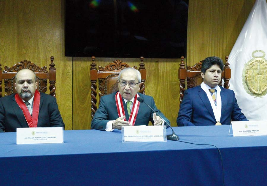 Fiscal de la Nación, Pedro Chávarry