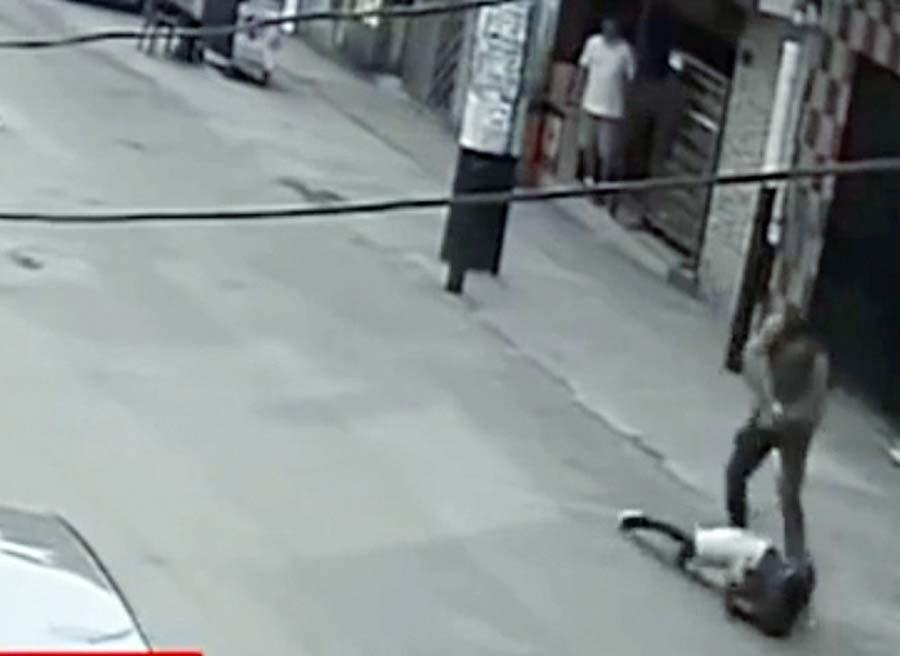 Mata a ladrón por robar a extranjera