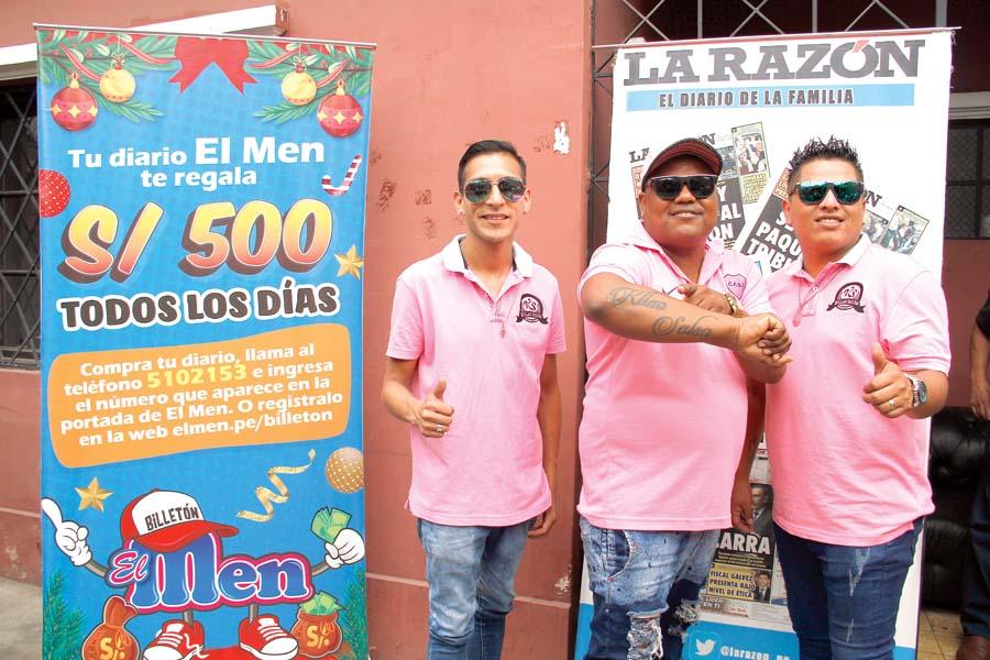 """Orquesta K-llao salsa te lo dice: """"Participa que El Men sí regala"""""""