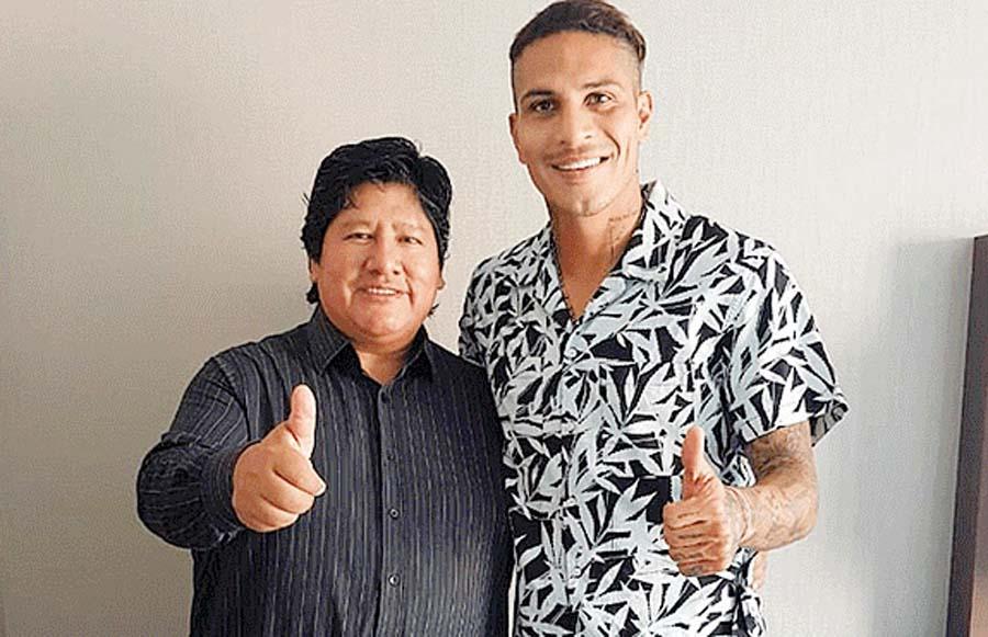 Paolo Guerrero sobre Edwin Oviedo