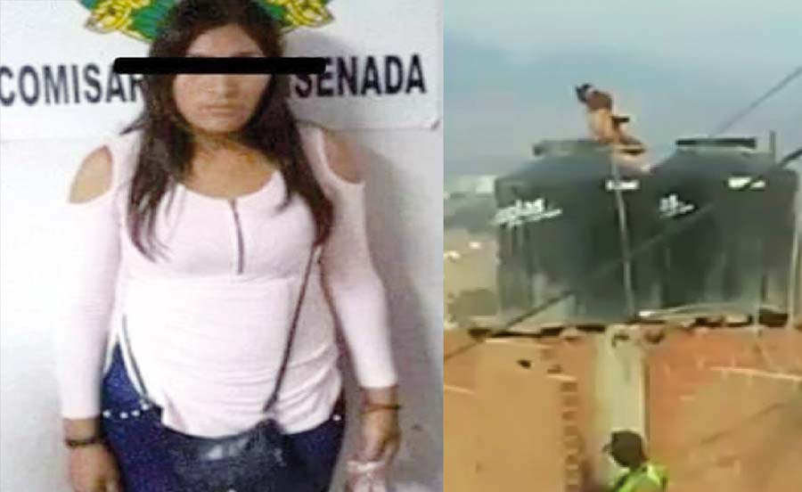 Desalmada madre maltrata hijitas al extremo de meterlas en tanque de agua