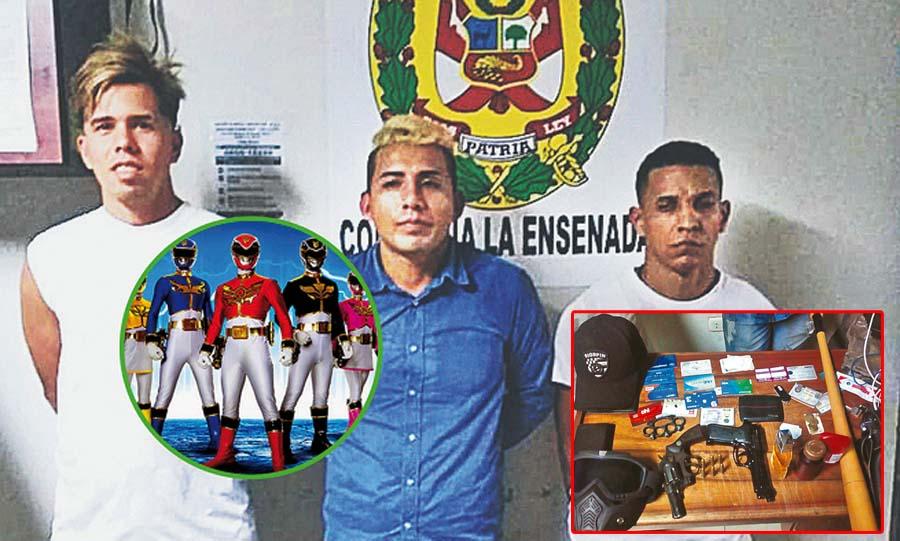 Venezolanos y un peruano eran el terror