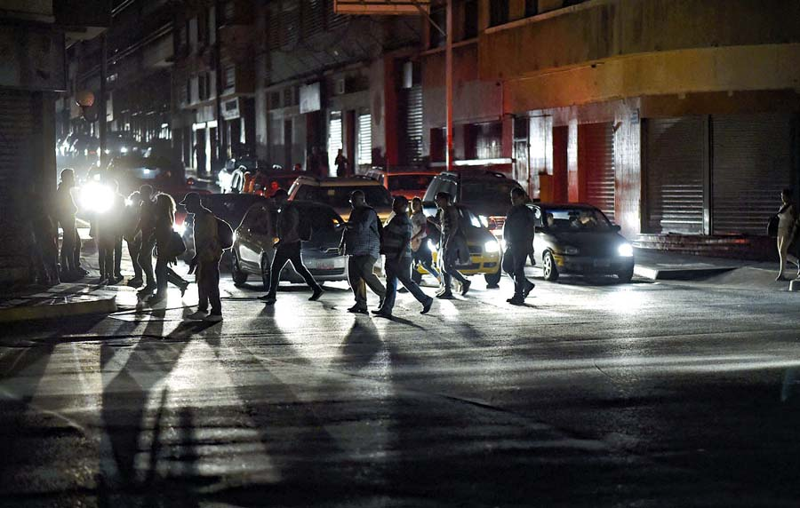 Apagon el Venezuela