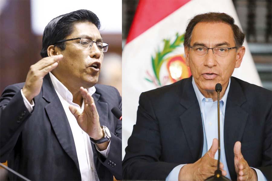 Vicente Zeballos y Martin Vizcarra