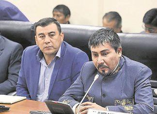 Elmer Cáceres Llica, gobernador de la región Arequipa