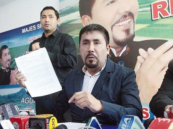 Gobernador regional de Arequipa,Elmer Cáceres