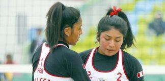 Lisbeth Allca y Medalyn Mendoza