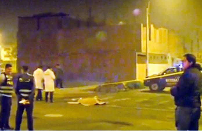 Madre de familia fue asesinada a balazos en Carabayllo