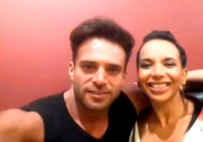 Renzo Spraggón y Mónica Cabrejos