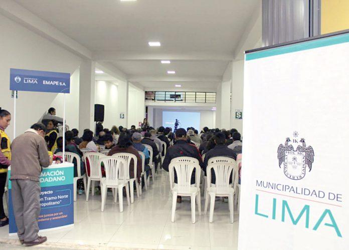 Ciudadanos participaron en taller sobre ampliación del Metropolitano