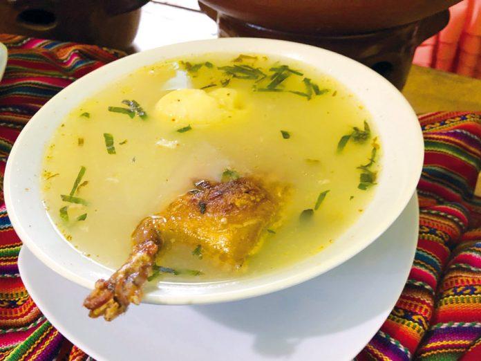 Sopa de cuy