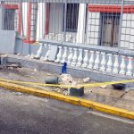 Unidad del Corredor Azul se estrelló contra embajada de Venezuela