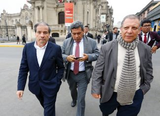 Cinco bancadas presentan su renuncia a Comisión de Ética