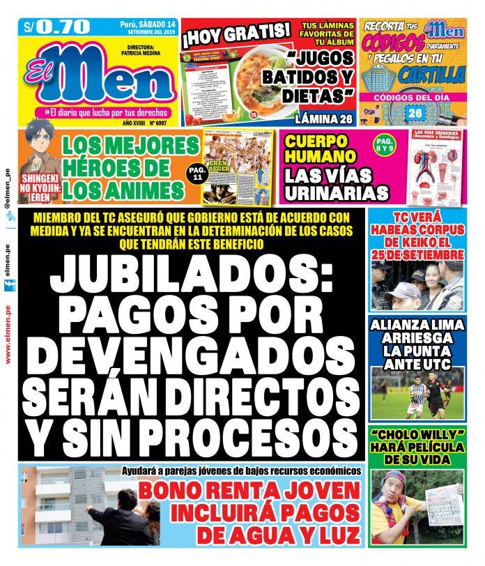 Portada (14/09/2019)