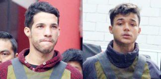 Venezolanos Abraham Perozo Borja y Angelbert Diaz Colina