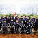 Vizcarra condecoró a Paradeportistas en Palacio de Gobierno