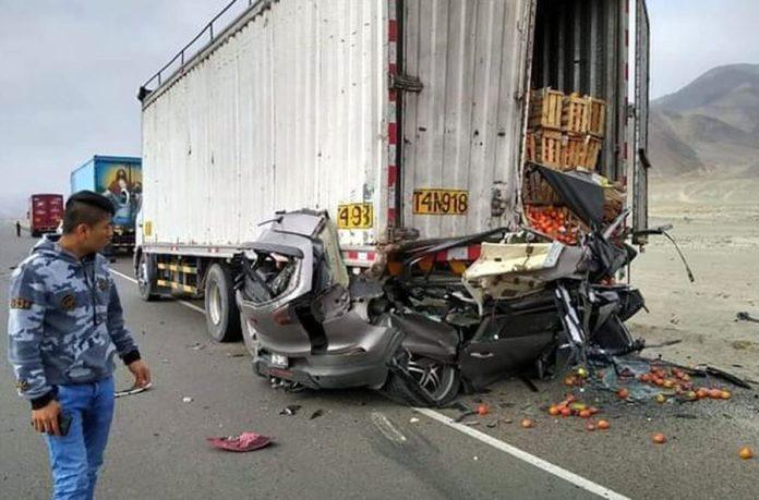 Choque de vehículo