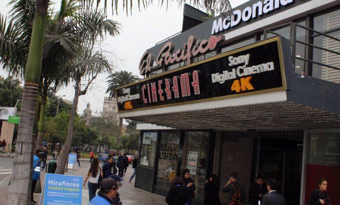 Cine El Pacífico, de la cadena Cinerama