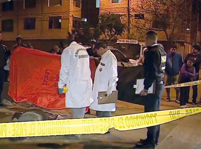 Delincuentes asesinaron a hombre en SMP