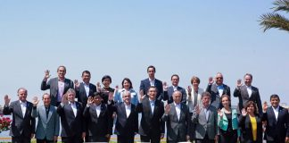 Encuentro Presidencial y III Gabinete Binacional efectuado en la región Ica