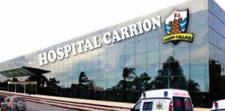 Hospital Carrión en el Callao