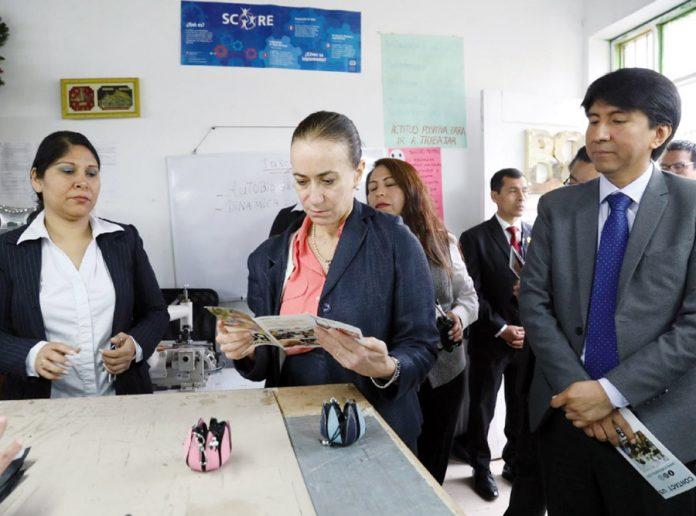 Ministra de Justicia, Ana Revilla