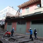 Se desploma balcón en jirón Carabaya en el Centro de Lima