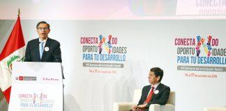 Vlll Semana de la Inclusión Social, el presidente de la República Martín Vizcarra