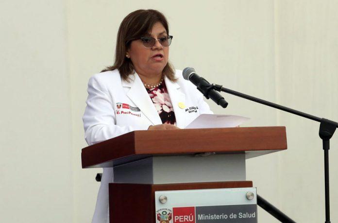 Zulema Tomás Gonzáles, ministra de salud