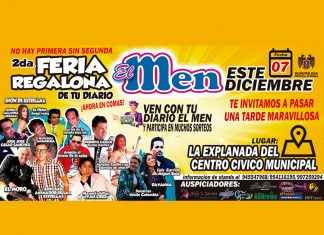 2da Feria El Men Regalón